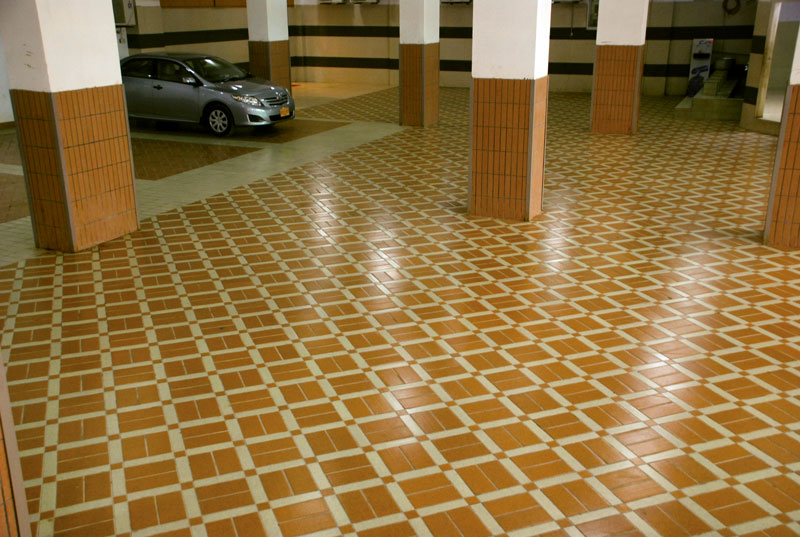 Unique floor tiles